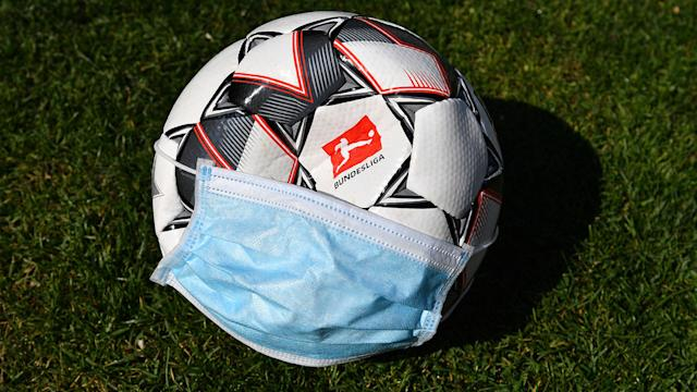 Coronavirus Bundesliga Ball Face Mask