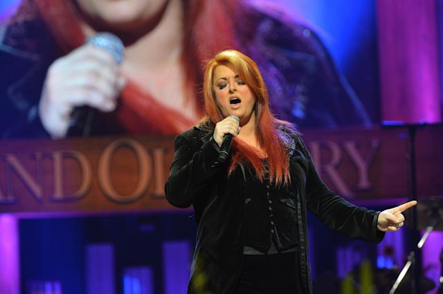 NASHVILLE, TN - MAY 02: (EXCLUSIVE COVERAGE) Country singer Wynonna performs at the funeral service for George Jones at The Grand Ole Opry on May 2, 2013 in Nashville, Tennessee. Jones passed away on April 26, 2013 at the age of 81. (Photo by Rick Diamond/Getty Images for GJ Memorial)