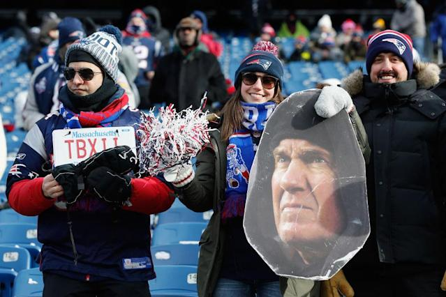 It's chilly in New England. (Getty)