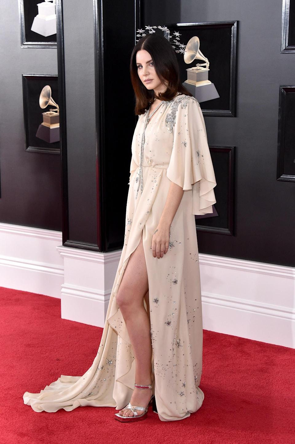"""<h1 class=""""title"""">Lana Del Rey in custom Gucci</h1><cite class=""""credit"""">Photo: Getty Images</cite>"""