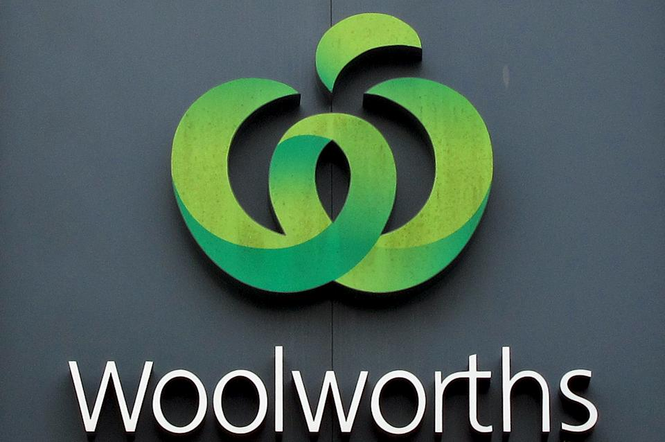 Woolworths logo. Source: Reuters