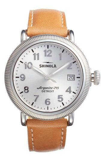 """<p><strong>Shinola The Runwell Leather Strap Watch</strong></p><p>nordstrom.com</p><p><strong>$550.00</strong></p><p><a href=""""https://go.redirectingat.com?id=74968X1596630&url=https%3A%2F%2Fshop.nordstrom.com%2Fs%2Fshinola-the-runwell-leather-strap-watch-38mm%2F4942454&sref=https%3A%2F%2Fwww.harpersbazaar.com%2Ffashion%2Ftrends%2Fg30515430%2Fbest-watch-brands-for-women%2F"""" rel=""""nofollow noopener"""" target=""""_blank"""" data-ylk=""""slk:Shop Now"""" class=""""link rapid-noclick-resp"""">Shop Now</a></p><p>Over the past decade, the idea of producing products in America as a means to stimulate the economy has been a cause célèbre for politicians—many of whom talk a great game but do nothing to really move the needle. Tom Kartsotis, who made ground with Fossil, has proven that action speaks louder than words. <br><br>In 2011, Kartsotis opened the Shinola watch factory in Detroit, Michigan, a city that fell on hard times after the decline of the U.S. automotive industry. He sought to compete with the dominant Swiss-based brands by providing quality products, while simultaneously causing a dent in Detroit's unemployment rate. It launched with the Runwell, a timepiece that uses crystals, sapphires, and other components that make up a luxury watch, but at a more affordable price point. </p>"""