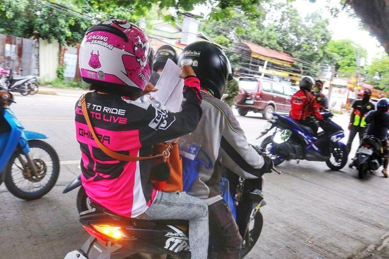 Riders from same house allowed without barriers