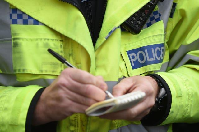Police issued 38 fines