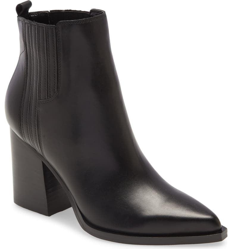 <p><span>Marc Fischer LTD Oshay Pointed Toe Bootie</span> ($95, originally $190)</p>