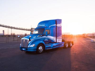 Kenworth Truck Company and Toyota Motor North America are collaborating to develop 10 zero-emission Kenworth T680s powered by Toyota hydrogen fuel cell electric powertrains.