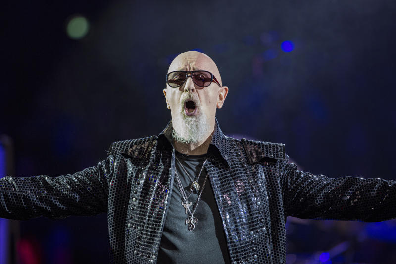 Rob Halford in 2019. (Photo: Daniel Knighton/Getty Images)