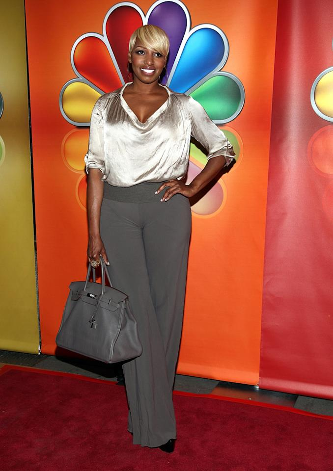 "NeNe Leakes (""The New Normal"") attends NBC's 2012 Upfront Presentation at 51st Street on May 14, 2012 in New York City."
