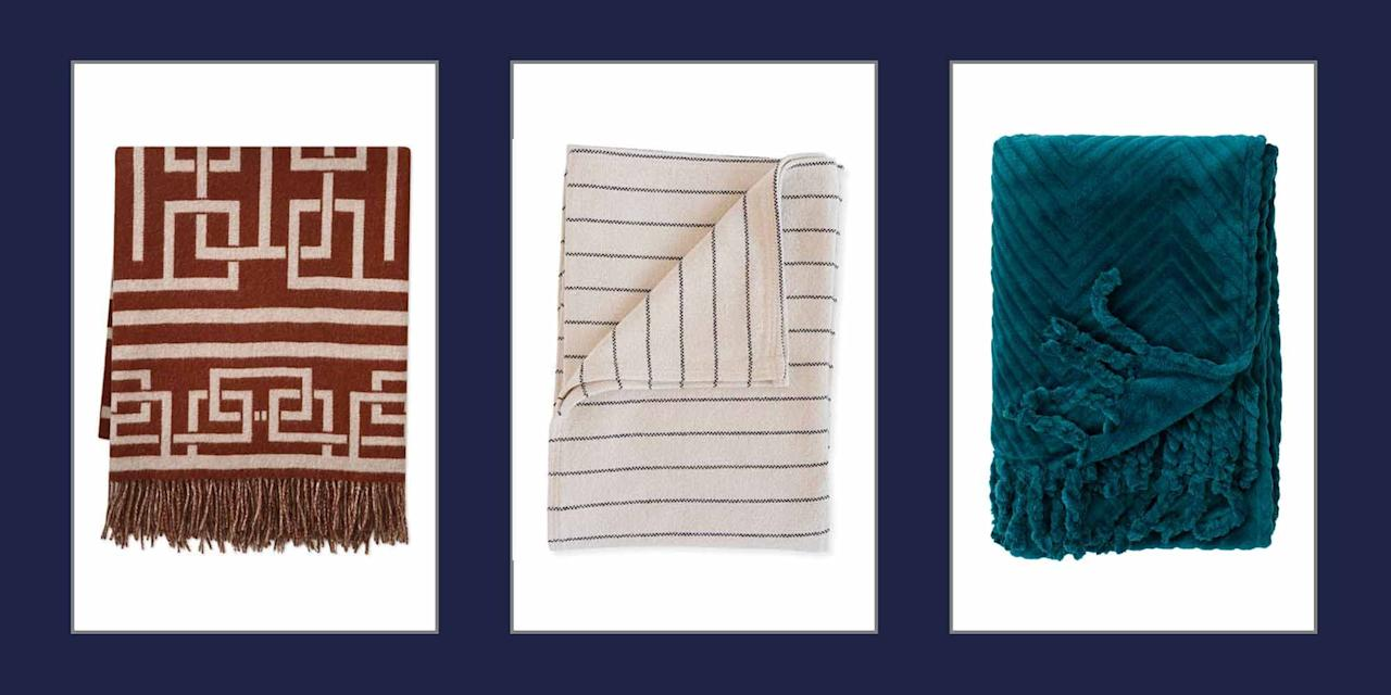 "<p>When the temperature dips, there's likely one item that you reach for time and time again—a throw. Cozy throw blankets make chilly nights at home <a href=""https://www.elledecor.com/design-decorate/room-ideas/g3510/warm-room-design/"" target=""_blank"">more cozy</a>, they're one of the easiest ways to add texture to a room, and they make for the <a href=""https://www.elledecor.com/life-culture/news/g2811/holiday-gift-ideas/"" target=""_blank"">perfect gift</a>. </p><p>To help you find the best throw blanket design for your space, we've gathered 15 of our favorites. These throw blankets, including faux fur, stripes, and floral patterns, are guaranteed to make your home feel more luxurious.</p>"