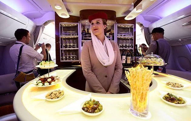 The flight attendants also get a tax-free salary. Photo: Getty.