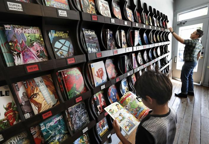 "Free Comic Book Day has been postponed until the summer because of the coronavirus outbreak. <span class=""copyright"">(Mel Melcon / Los Angeles Times)</span>"