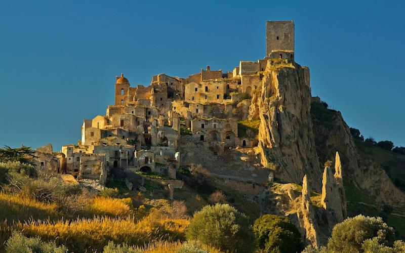 Italy abandoned village - GETTY