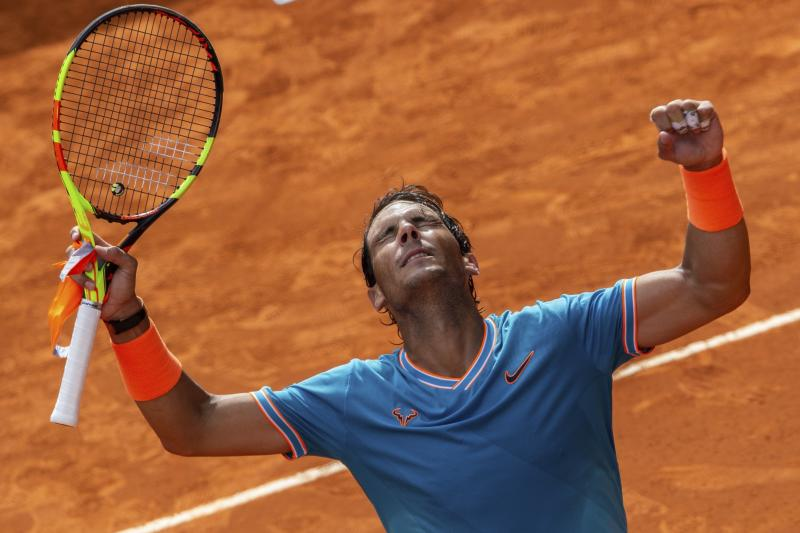 Nadal Tops Auger-Aliassime to Advance at Madrid Open