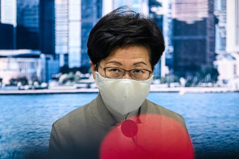 Hong Kong's pro-Beijing leader Carrie Lam said the disqualifications of pro-democracy lawmakers were 'constitutional, legal, reasonable and necessary'