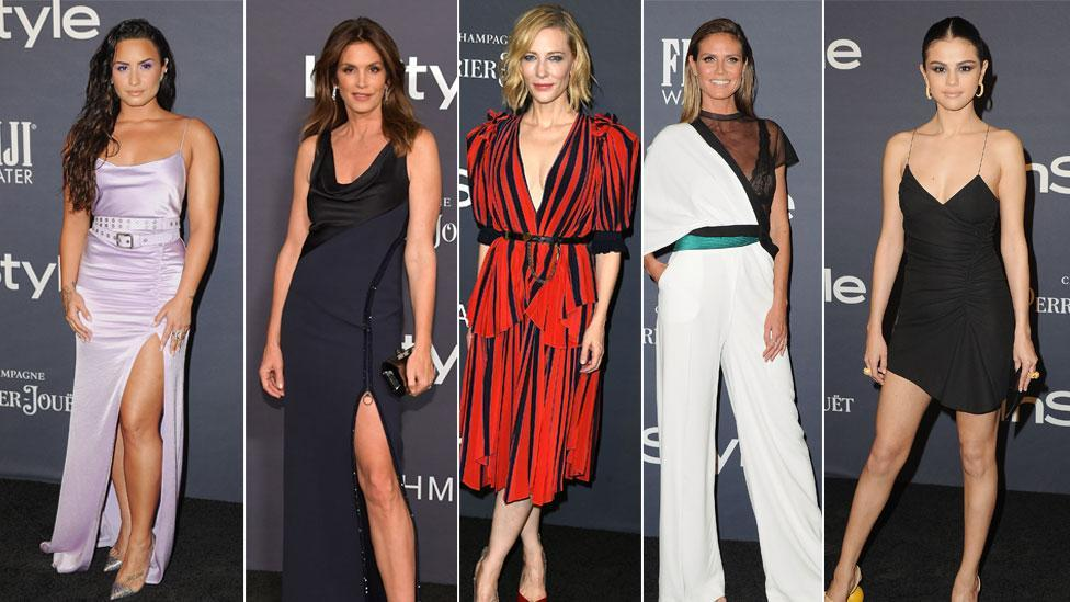 <p>Fashioninspiration: Die besten Looks der InStyle Awards in Los Angeles. (Bild: Getty/ AP/ Reuters) </p>