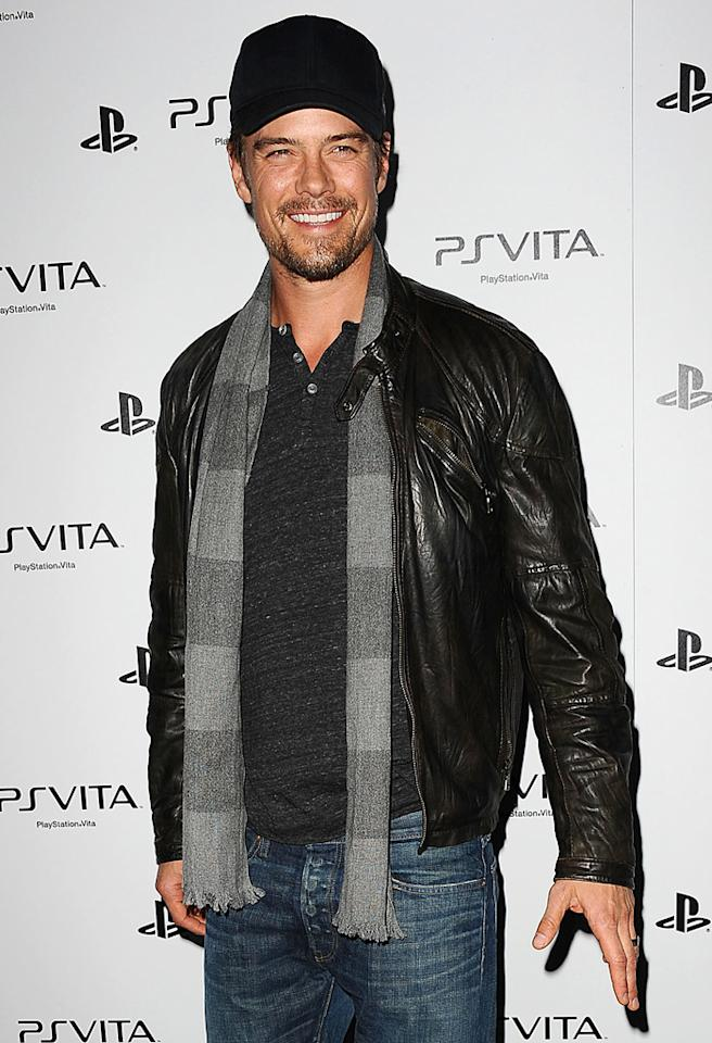 HOLLYWOOD, CA - FEBRUARY 15:  Actor Josh Duhamel attends the Sony PlayStation US launch event for PS Vita at Siren Studios on February 15, 2012 in Hollywood, California.  (Photo by Jason LaVeris/FilmMagic)