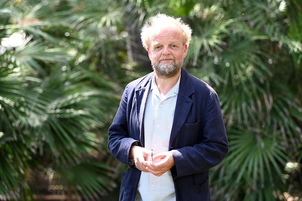 Toby Jones at the Filming Italy Sardegna Festival on July 24, 2020. (Photo by Daniele Venturelli/Getty Images)