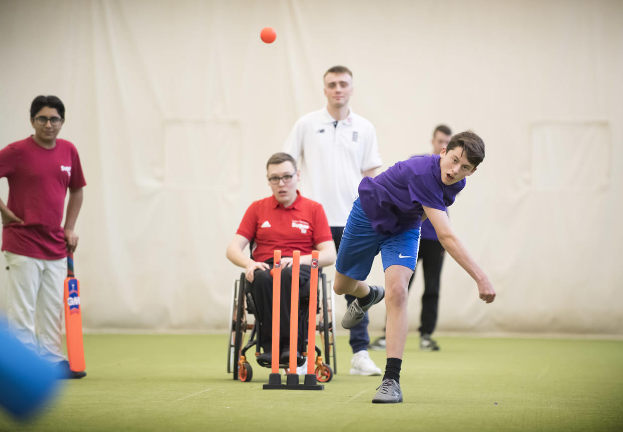 Super 1s provides cricketing opportunities for disabled young people