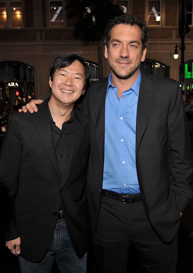 "<a href=""http://movies.yahoo.com/movie/contributor/1809737459"">Ken Jeong</a> and <a href=""http://movies.yahoo.com/movie/contributor/1800189154"">Todd Phillips</a> attend the Los Angeles premiere of <a href=""http://movies.yahoo.com/movie/1810116445/info"">Due Date</a> on October 28, 2010."