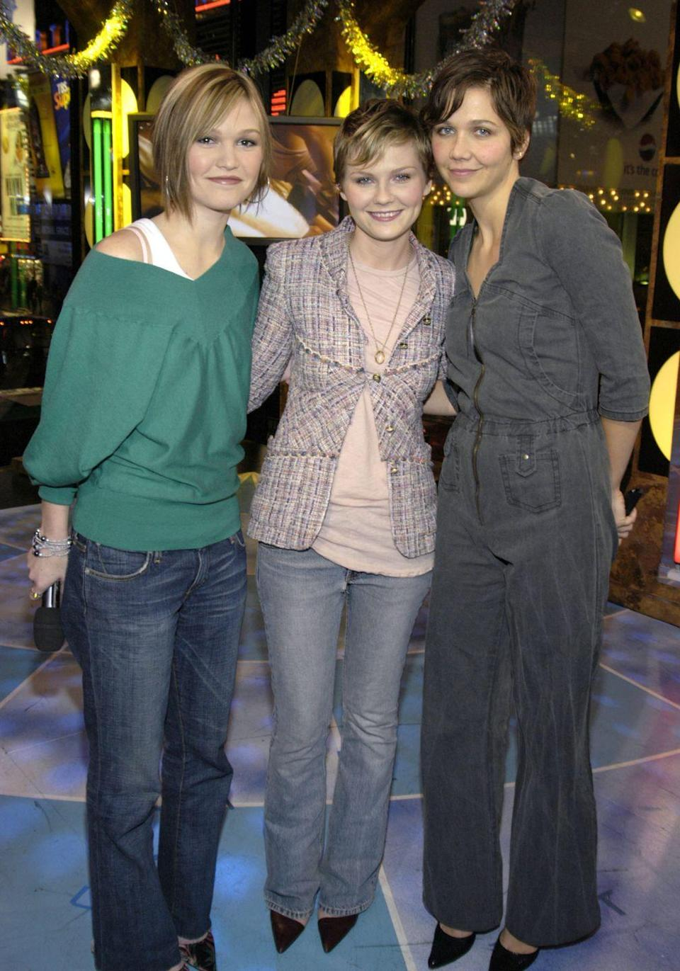 <p>They say bad luck comes in threes, so does the same rule apply to bad outfits? If you're wondering why there is so much frump between these gorgeous ladies, all I can say is it was 2003. </p>