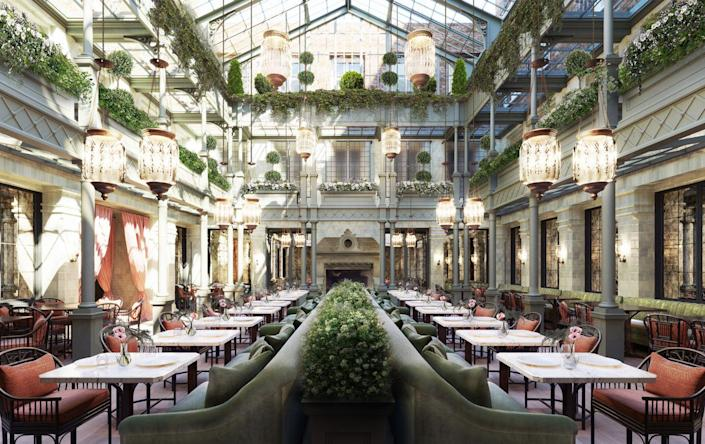 """<p>After COVID-19-related delays that prevented a 2020 opening, the highly anticipated <a href=""""https://www.thenomadhotel.com/london/"""" rel=""""nofollow noopener"""" target=""""_blank"""" data-ylk=""""slk:NoMad London"""" class=""""link rapid-noclick-resp"""">NoMad London</a> opened in 2021 as part of a stellar partnership between <a href=""""http://www.romanandwilliams.com/"""" rel=""""nofollow noopener"""" target=""""_blank"""" data-ylk=""""slk:Roman and Williams"""" class=""""link rapid-noclick-resp"""">Roman and Williams</a> and <a href=""""https://www.sydellgroup.com/"""" rel=""""nofollow noopener"""" target=""""_blank"""" data-ylk=""""slk:Sydell Group"""" class=""""link rapid-noclick-resp"""">Sydell Group</a>. Inspired by the building's rich history and location, as well as the artistic cultural connection between New York and London, NoMad London features an impressive slew of amenities that are sure to make it a hot spot for travelers and locals alike. A subterranean craft cocktail bar and lounge, a stellar art program, and the signature NoMad restaurant are just a few of the many reasons why.</p><p><em>NoMad London opened in May 2021. Nightly rates start at $612.</em></p>"""