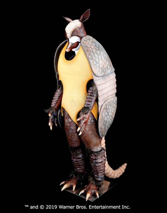 The Holiday Armadillo costume is going up for auction. (Photo: Warner Bros.)