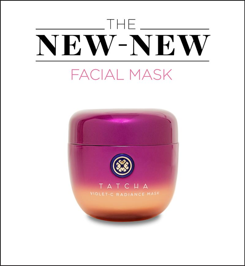 Tatcha's new Violet-C Radiance Mask is packed with the skin brightening Japanese superfruit Beautyberry. (Photo: Tatcha)