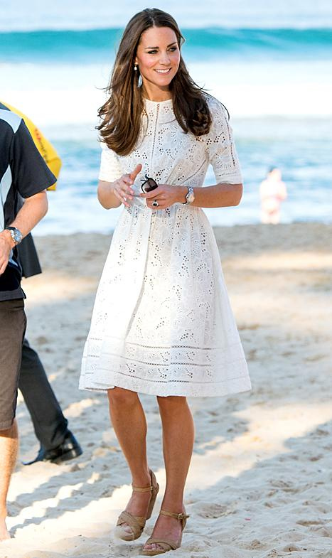 Kate Middleton's White Eyelet Zimmermann Dress During Australia Tour: Get the Look
