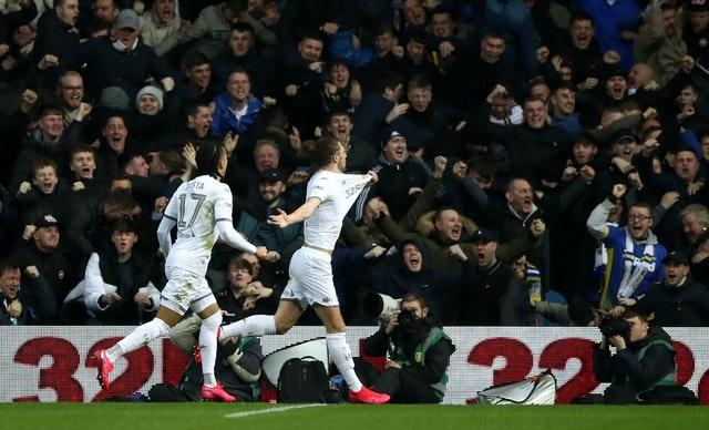 Leeds are top of the table