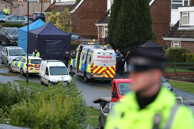 Police incident in Crawley Down