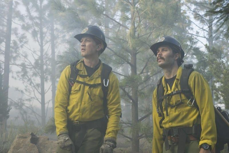 <p>Sporting a handlebar mustache in <em>Only the Brave</em>, Kitsch still looked handsome, but not as noticeable as his fellow co-stars. </p>