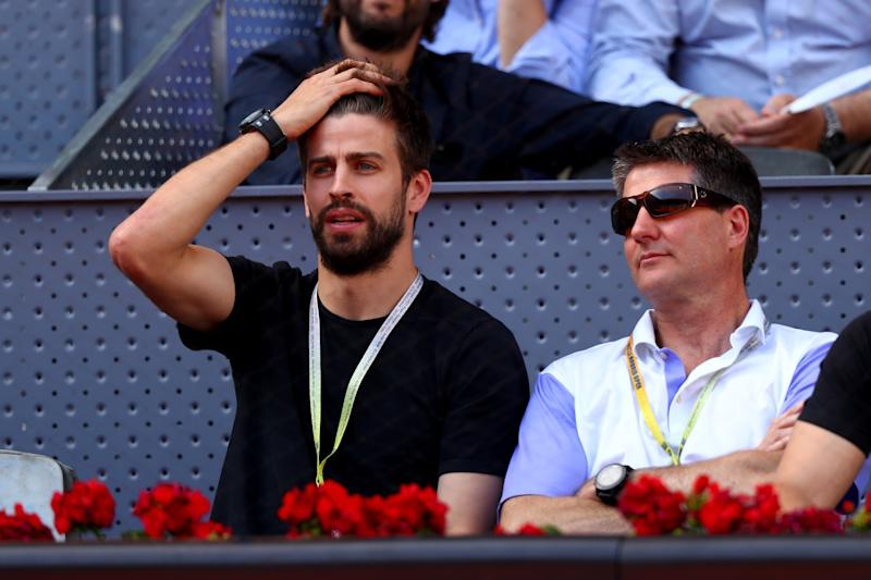 Pique: I'll invite Real Madrid and Atletico players to Davis Cup