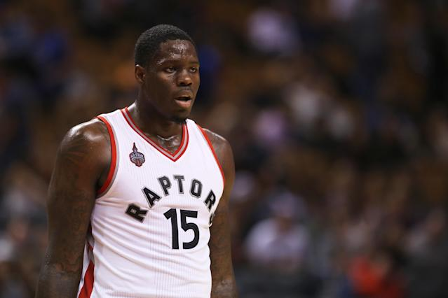 """Former No. 1 overall draft pick <a class=""""link rapid-noclick-resp"""" href=""""/ncaaf/players/261518/"""" data-ylk=""""slk:Anthony Bennett"""">Anthony Bennett</a> has been invited to attend the <a class=""""link rapid-noclick-resp"""" href=""""/nba/teams/houston/"""" data-ylk=""""slk:Houston Rockets"""">Houston Rockets</a>' training camp this fall. (Melissa Renwick/Toronto Star via Getty Images)"""