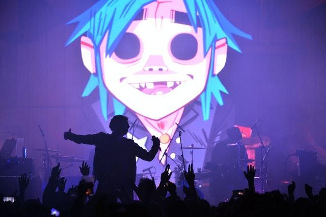 Gorillaz album launch