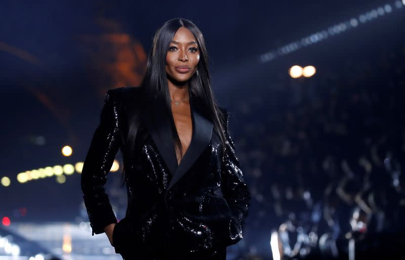 FILE PHOTO: Saint Laurent Spring/Summer 2020 women's ready-to-wear collection show at Paris Fashion Week