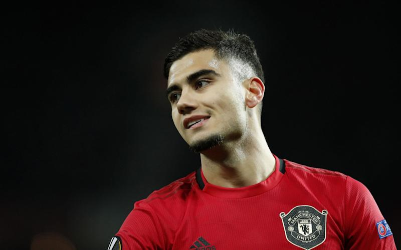 Andreas Pereira of Manchester United during the UEFA Europa League group L match between Manchester United and AZ Alkmaar - Getty Images