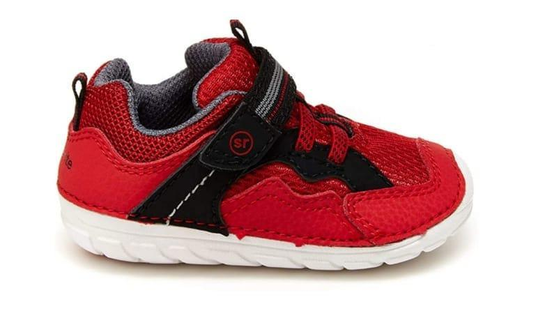 Stride Rite's high traction shoes are sturdy and durable and very lightweight.