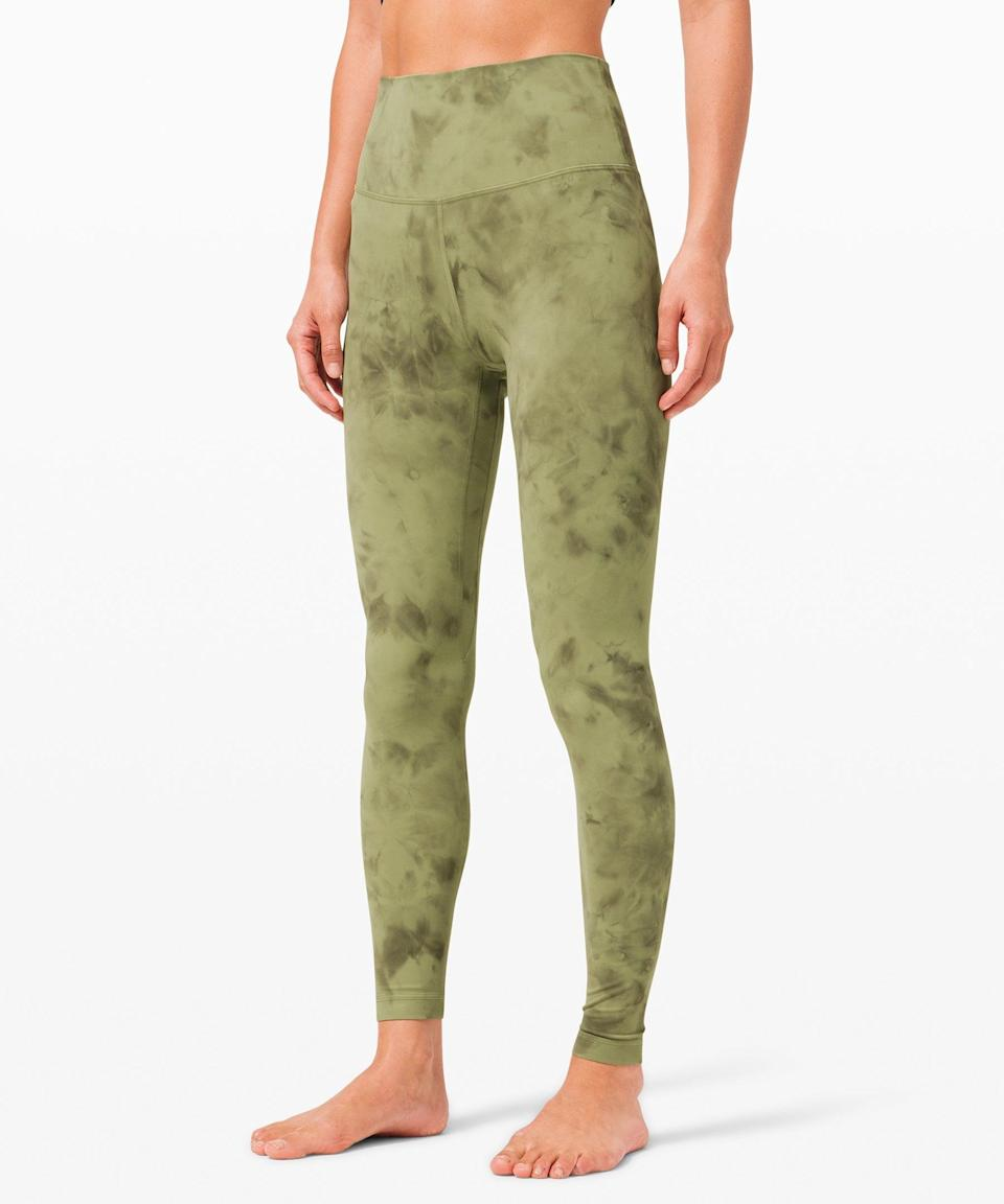 """<h3>Lululemon Align Pant<br></h3><br>The Canadian activewear company has amassed a seriously devoted following with its lightweight, low-impact Nulu fabric. It took the brand 15 months and seven different iterations before landing on the perfect mix of supreme softness, compression, and flexibility.<br><br><strong>lululemon</strong> Align Pant in Diamond Dye, $, available at <a href=""""https://go.skimresources.com/?id=30283X879131&url=https%3A%2F%2Fshop.lululemon.com%2Fp%2Fwomens-leggings%2FAlign-Pant-28-DiamondDye%2F_%2Fprod9830111%3Fcolor%3D44781"""" rel=""""nofollow noopener"""" target=""""_blank"""" data-ylk=""""slk:lululemon"""" class=""""link rapid-noclick-resp"""">lululemon</a>"""