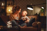 """<p>Once the sun sets, mirror that darkness inside your home by dimming the lights. """"This simple task helps promote production of the hormone melatonin, which has a sedating effect,"""" says Dr. Winter. That means you'll fall asleep faster.</p>"""