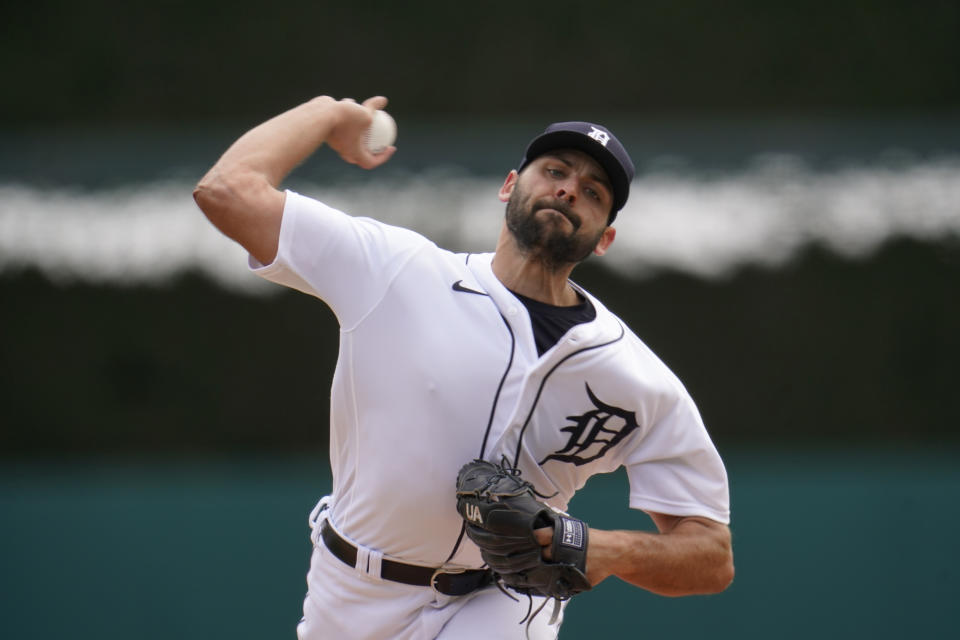 Detroit Tigers pitcher Michael Fulmer