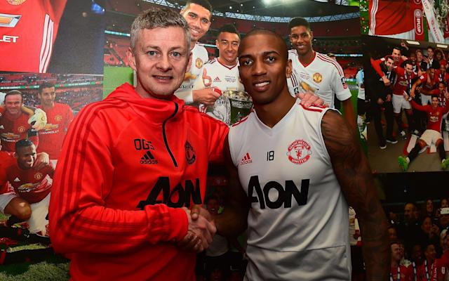 Ashley Young has emerged as a key player under Ole Gunnar Solskjaer - Manchester United