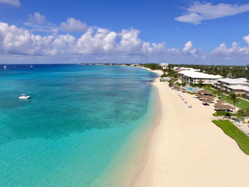 """<a href=""""https://www.tripadvisor.com/Attraction_Review-g147367-d2385044-Reviews-Seven_Mile_Beach-Seven_Mile_Beach_Grand_Cayman_Cayman_Islands.html"""" target=""""_blank"""">Seven Mile Beach</a> is a popular destination for cruise ships, so the beach boasts plenty of restaurants, bars, hotels, resorts and activities.<strong><br /><br />Nearby beachfront hotel:</strong><a href=""""https://www.tripadvisor.com/Hotel_Review-g1722406-d518475-Reviews-Compass_Point_Dive_Resort-East_End_Grand_Cayman_Cayman_Islands.html"""" target=""""_blank"""">Compass Point Dive Resort</a>, from $250 per night"""