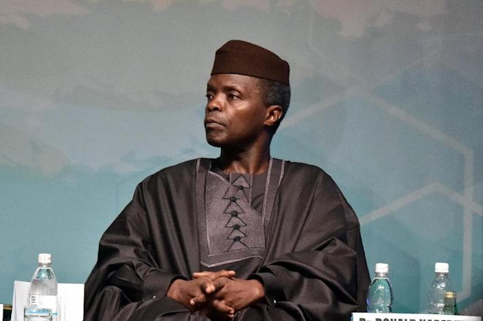 Nigerian Vice-President Yemi Osinbajo appears wealthier than the president, with more than $470,000 in his bank accounts, four house and three cars, among other assets (AFP Photo/Issouf Sanogo)