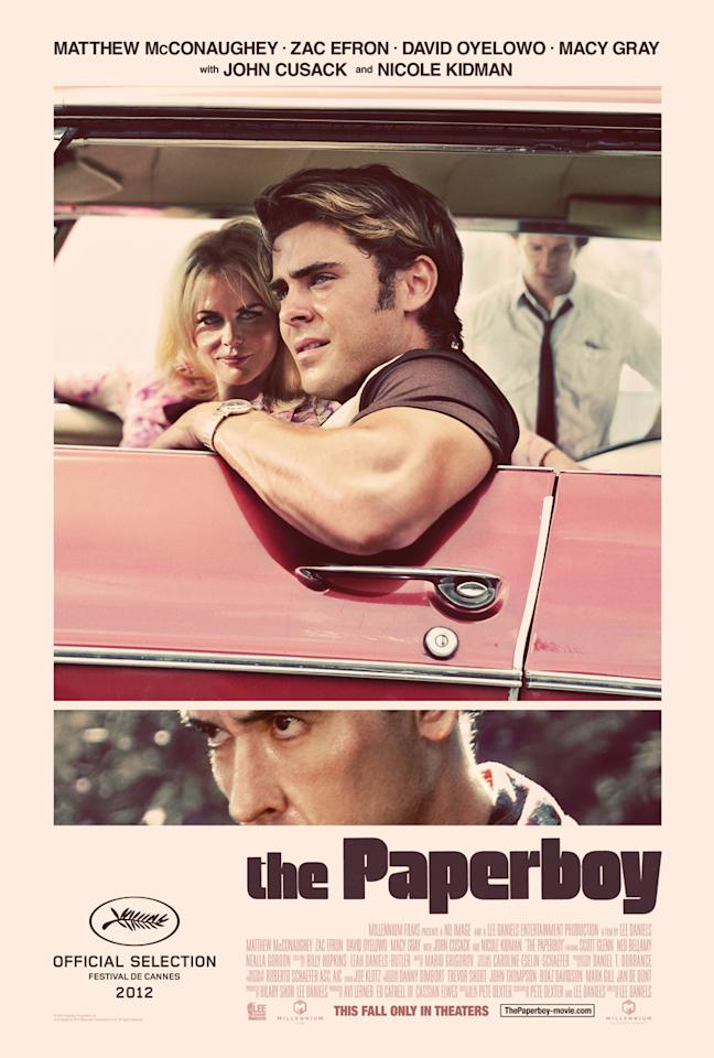 <b>The Best: THE PAPERBOY</b><br><br>This clean, handsomely designed retro one-sheet for Lee Daniels' controversial drama could hang with the best posters of yesteryear.