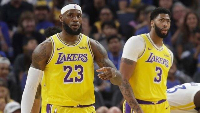 NBA: Anthony Davis confirms he won't wear social justice message on jersey for league's restart