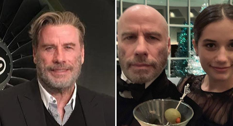 <p><strong>When: </strong>8 January 2019<br>John Travolta debuted his natural bald-headed look on his Instagram account. <em>[Photo: Instagram]</em> </p>