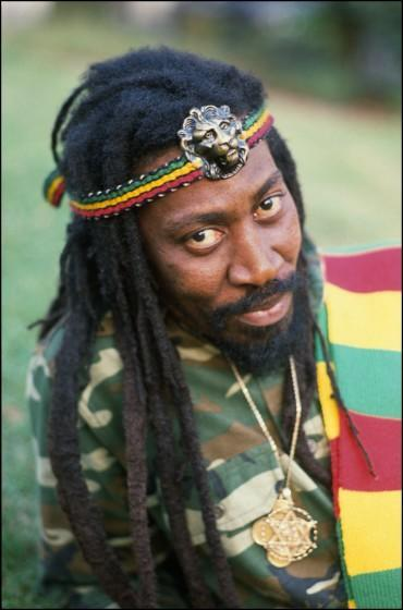 Bunny Wailer in Notting Hill, London, UK on 17 August 1988. (Photo by David Corio/Redferns)