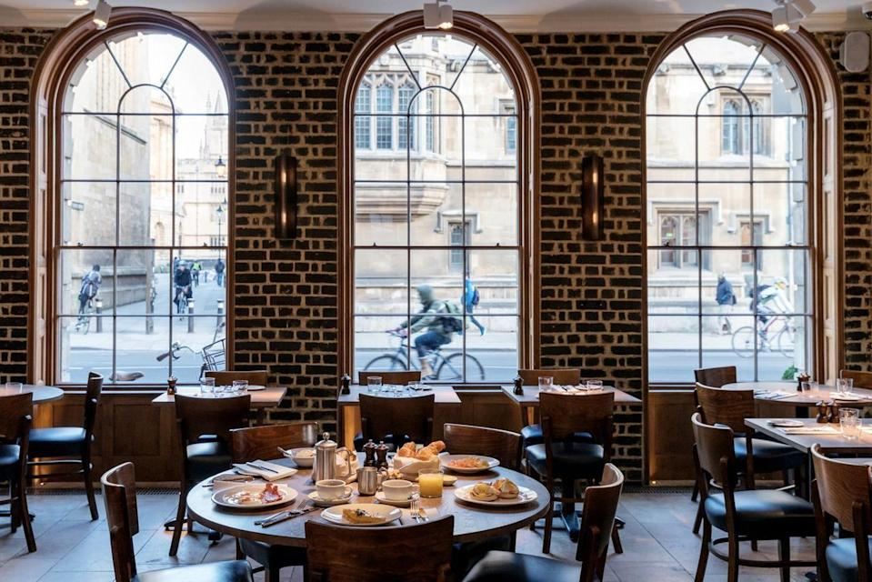 """<p>Arguably the trendiest hotel in Oxford, <a href=""""https://go.redirectingat.com?id=127X1599956&url=https%3A%2F%2Fwww.booking.com%2Fhotel%2Fgb%2Fthe-old-bank.en-gb.html%3Faid%3D2070935%26label%3Dweekend-getaways&sref=https%3A%2F%2Fwww.countryliving.com%2Fuk%2Ftravel-ideas%2Fstaycation-uk%2Fg34755768%2Fweekend-getaways%2F"""" rel=""""nofollow noopener"""" target=""""_blank"""" data-ylk=""""slk:The Old Bank"""" class=""""link rapid-noclick-resp"""">The Old Bank </a>is a modern and stylish place to make your base for exploring this historically-rich city. As well as The Botanic Garden, Magdalen Bridge and the River Cherwell all being within five minutes of the hotel, there's also views over iconic college buildings like University Church of St Mary and Radcliffe Camera. </p><p>You'll enjoy how the period features sit next to impressive modern art as well as the buzzy brasserie. You can also head down the river towpath on two wheels on the hotel's bikes.</p><p><a href=""""https://www.countrylivingholidays.com/offers/oxford-old-bank-hotel"""" rel=""""nofollow noopener"""" target=""""_blank"""" data-ylk=""""slk:Read our review of The Old Bank."""" class=""""link rapid-noclick-resp"""">Read our review of The Old Bank.</a></p><p><a class=""""link rapid-noclick-resp"""" href=""""https://go.redirectingat.com?id=127X1599956&url=https%3A%2F%2Fwww.booking.com%2Fhotel%2Fgb%2Fthe-old-bank.en-gb.html%3Faid%3D2070935%26label%3Dweekend-getaways&sref=https%3A%2F%2Fwww.countryliving.com%2Fuk%2Ftravel-ideas%2Fstaycation-uk%2Fg34755768%2Fweekend-getaways%2F"""" rel=""""nofollow noopener"""" target=""""_blank"""" data-ylk=""""slk:CHECK AVAILABILITY"""">CHECK AVAILABILITY</a></p>"""