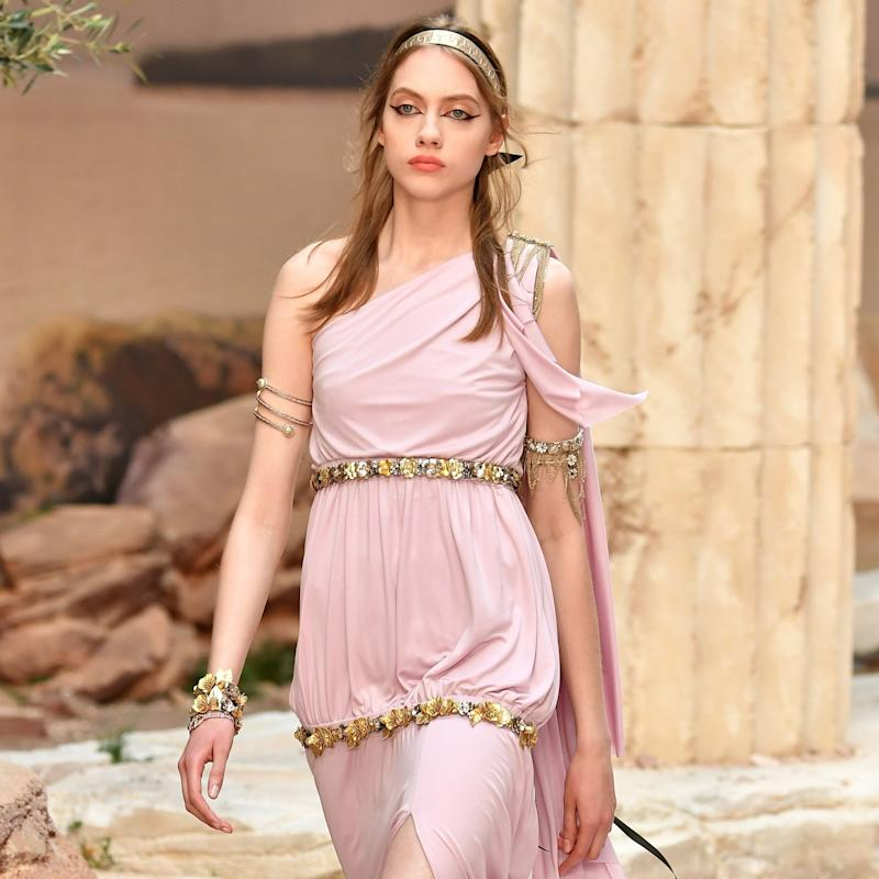 Chanel's Cruise Show Is a 1-Way Ticket to Greece