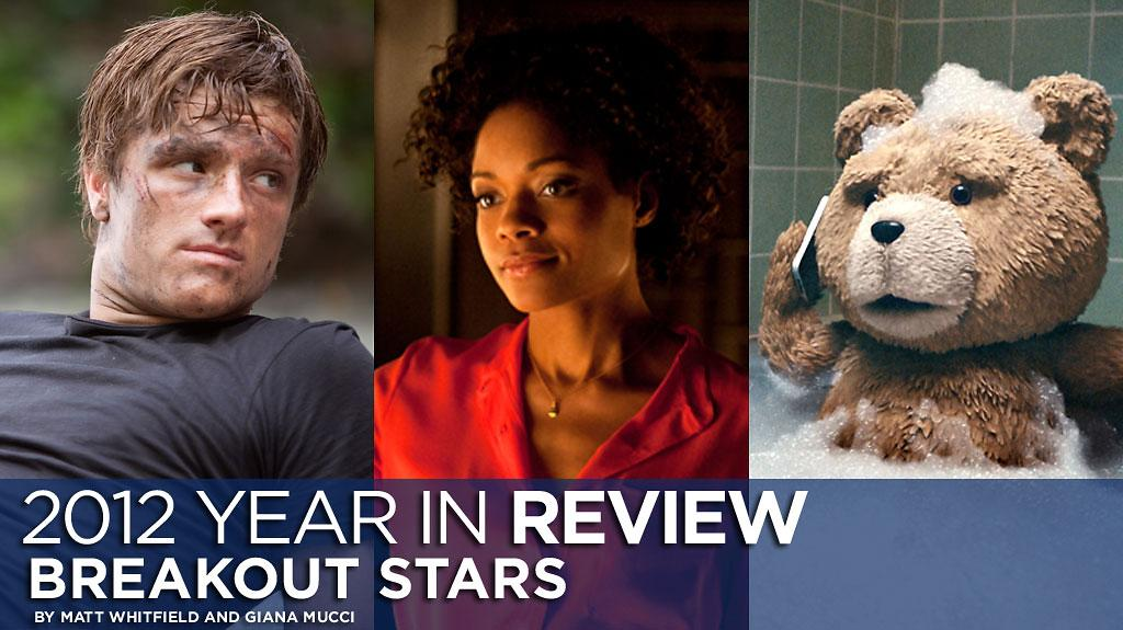 Josh Hutcherson, Naomi Harris and Ted
